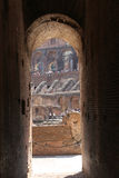 Interior architecture of Colosseum , Rome Royalty Free Stock Image