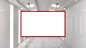 Interior architecture and frame Royalty Free Stock Photos