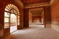 Interior architecture of jaral de berrio hacienda mexico Royalty Free Stock Image