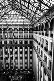 Interior architecture at the Old Post Office, in Washington, DC. Stock Images