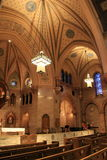 Interior architecture of Old South Church, Boston, Mass, 2015 Royalty Free Stock Photos