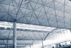 Interior architecture structure Royalty Free Stock Photo