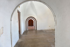 Interior Archways in Puerto Rico Royalty Free Stock Photo