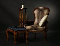Interior in the aristocratic style. Luxurios interior in the aristocratic style Stock Images