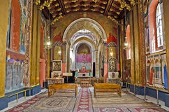 Interior of the Armenian Cathedral Royalty Free Stock Photo