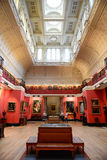Interior of Art Gallery in Fitzwilliam Museum Royalty Free Stock Photos