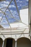 Interior of art museum Stock Photo