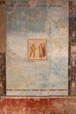 Interior artworks - Ancient Rome, Pompei Royalty Free Stock Photo