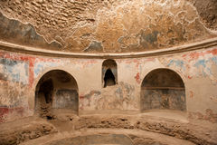 Interior artworks - Ancient Rome, Pompei Stock Images