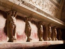 Interior artworks - Ancient Rome, Pompei Stock Photo