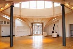 Interior. Attic. Interio of the modern attic stock image