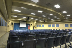Interior of Auditorium Stock Images