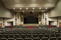 Interior of Auditorium Stock Photography