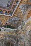 Interior of the Austrian Imperial Bath in Baile Herculane,Romania Stock Image