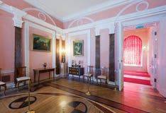 Interior av den Catherine slotten Arkivbild