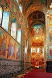 Interior av den kyrkliga frälsaren Fotografering för Bildbyråer