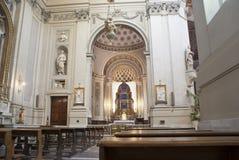Interior av den Palermo domkyrkan Royaltyfri Foto