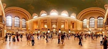 Interior av den storslagna centralstationen i New York City Arkivbilder