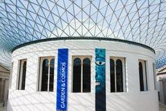 Interior av det brittiska museet i London Arkivbilder
