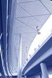 Interior av det moderna arkitektoniskt Arkivbild