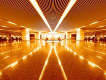 Interior av det moderna arkitektoniskt Arkivbilder