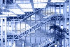 Interior av det moderna arkitektoniskt Arkivfoto