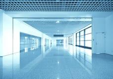 Interior av det moderna arkitektoniskt Royaltyfria Foton