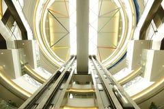 Interior av det moderna arkitektoniskt Royaltyfria Bilder
