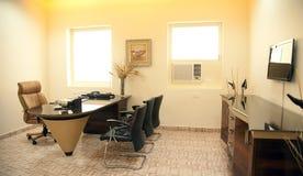 Interior av det moderna kontoret Royaltyfria Bilder