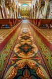 Interior av domkyrkan Arkivbild