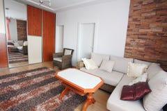 Interior av en home håla Royaltyfria Bilder