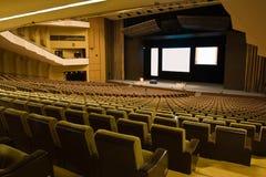 Interior av en konferens Hall Royaltyfria Bilder