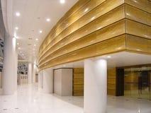 Interior av en konserthall Arkivfoto