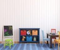 Interior av playroomen. Arkivfoton