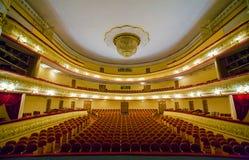 Interior av teatern Royaltyfria Foton