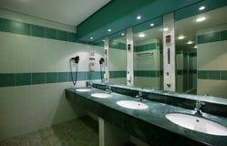 Interior av toaletten Royaltyfria Foton