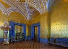 Interior av vinterslotten. St Petersburg Royaltyfri Fotografi