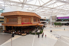 Interior of The Avenues Mall in Kuwait Royalty Free Stock Photo
