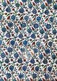Interior azul de la mezquita de Sultanahmet - tejas Imagen de archivo libre de regalías