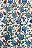 Interior azul de la mezquita de Sultanahmet - tejas Imagenes de archivo