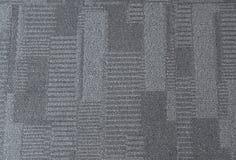 Interior azul do teste padrão do tapete do escritório fotografia de stock royalty free
