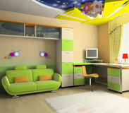 Interior of the baby Royalty Free Stock Photo
