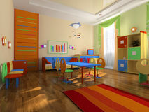 Interior of the baby office Stock Photography