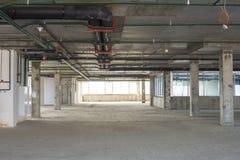 Interior bajo construcción Fotografía de archivo libre de regalías