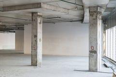 Interior bajo construcción Imagenes de archivo