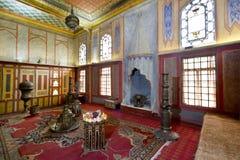 The interior of the Bakhchisaray Palace (Hansaray) the residence of the Crimean khans XVI century Royalty Free Stock Photography