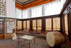 The interior of the Bakhchisaray Palace (Hansaray) the residence of the Crimean khans XVI century Stock Image