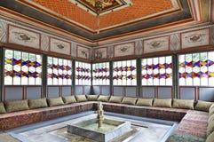 The interior of the Bakhchisaray Palace (Hansaray) the residence of the Crimean khans XVI century Stock Photo