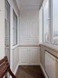 Interior of balcony Royalty Free Stock Photography