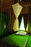 Interior, Bamboo House Royalty Free Stock Images
